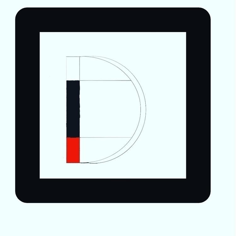 Mondrian - typographic, digital - zackmto | ello