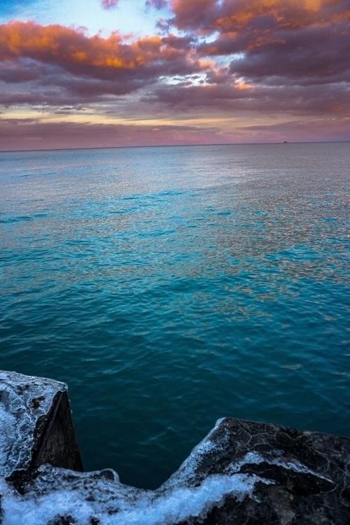 Lake Michigan Reflection   Chic - emillman   ello