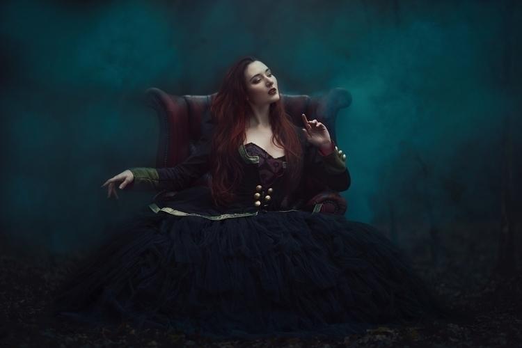 """Alice"" — Photographer:Anjelic - darkbeautymag   ello"