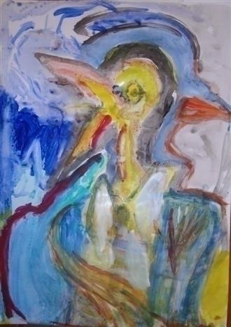 Bird mother fearful son - art - giannisrallis | ello