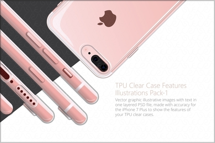 UV Printed TPU Clear Phone Case - simarvecras | ello