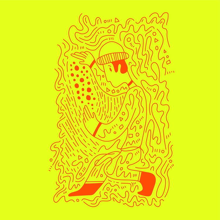 Illusionist - illustration, illustrator - heybop | ello