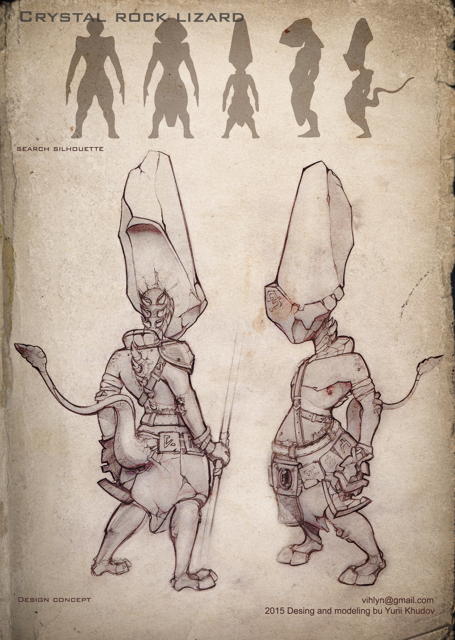 3d, characterdesign - yuryhudov   ello