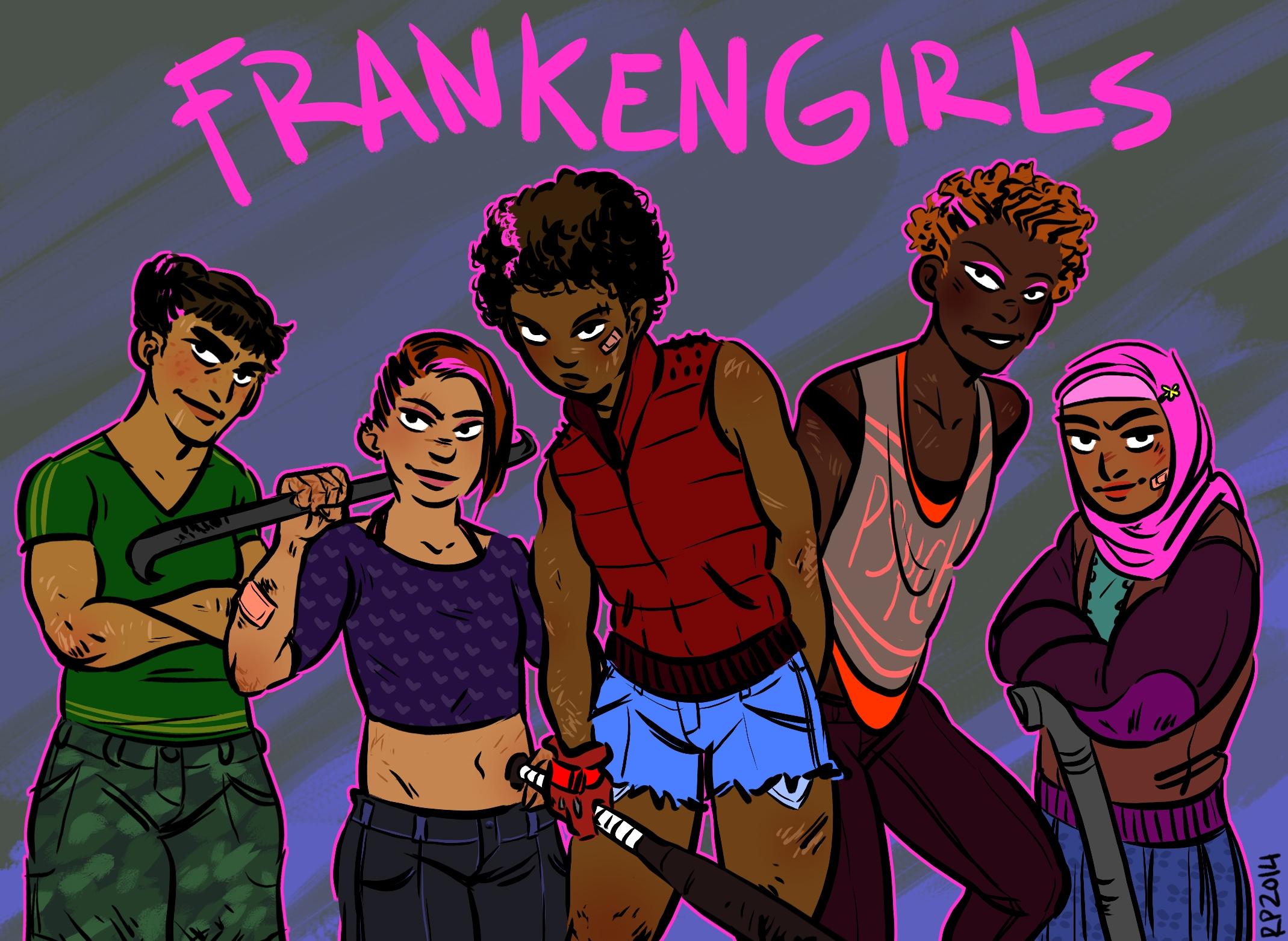 girl gang crush - frankengirls, girlgang - rachelpoulson | ello