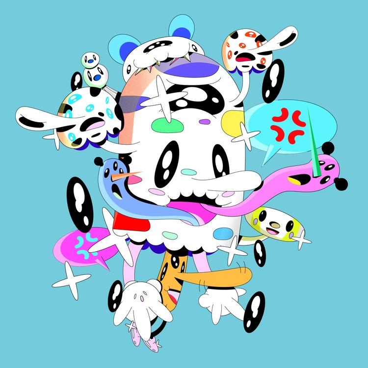 Funggi - tokyo, kawaii, illustration - natekogan   ello