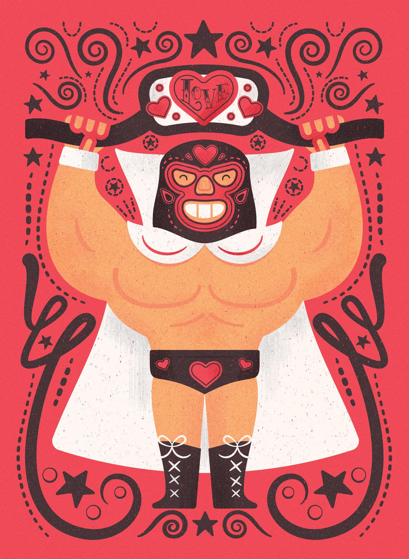 Valentine concept wrestled - valentinesday - mrmack-4537   ello