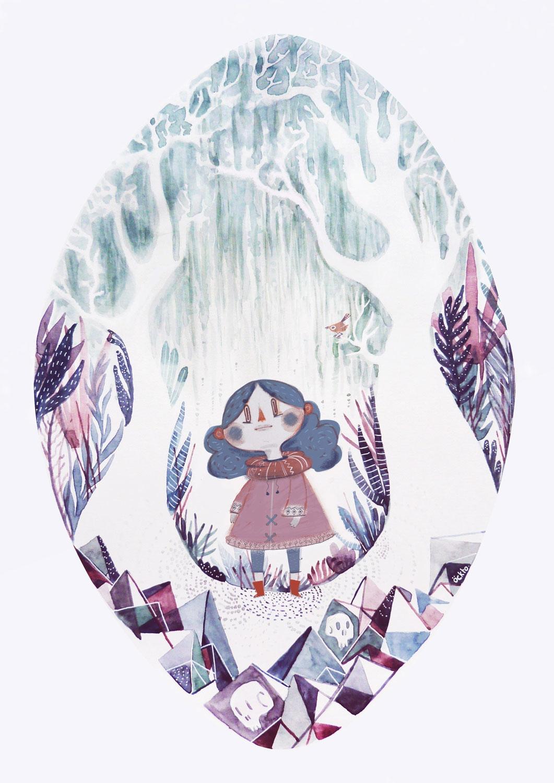 Elma - illustration, öckto, watercolor - ockto | ello