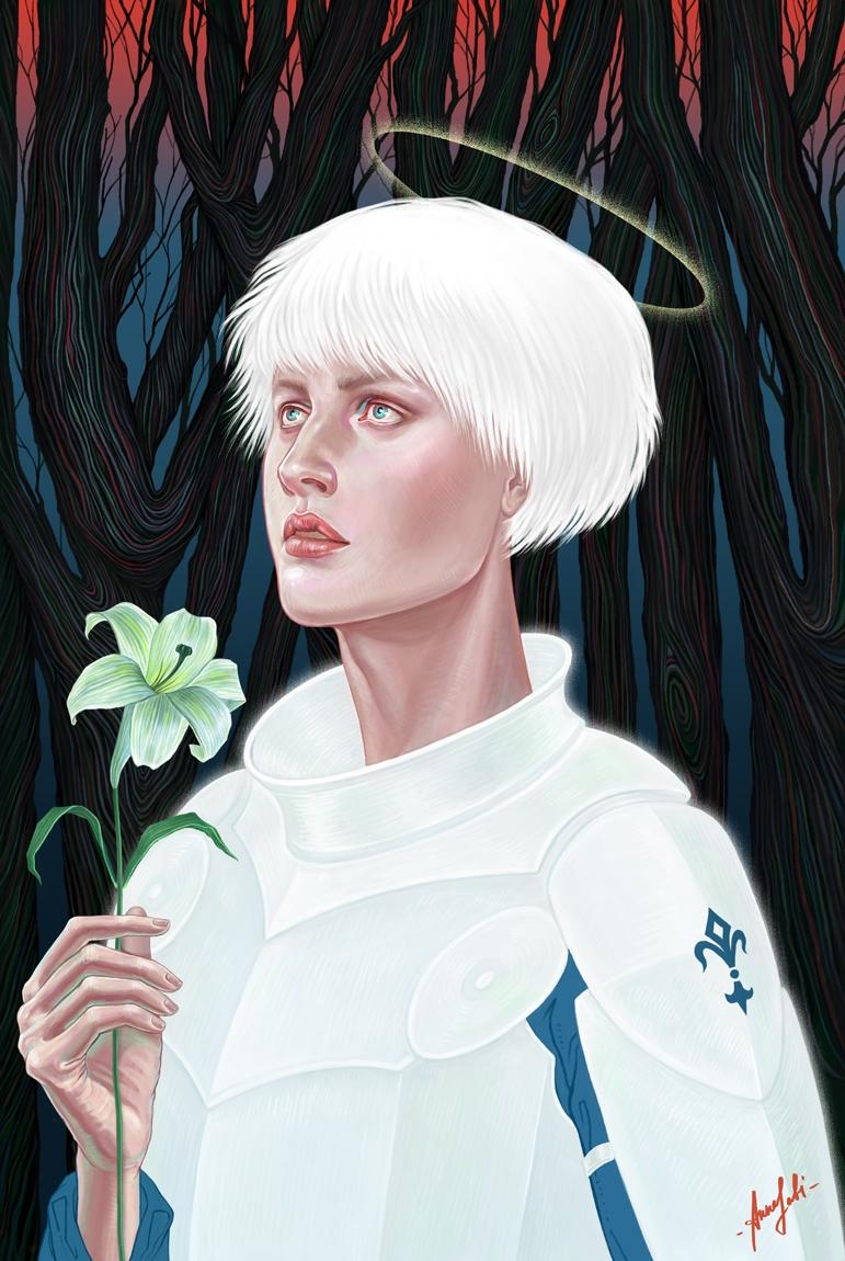 Digital illustration ' Joan Arc - annaorca | ello