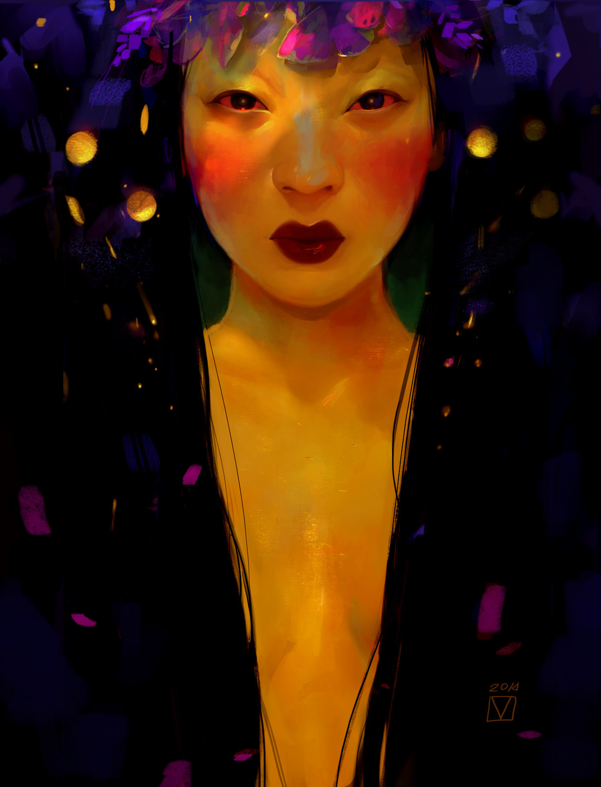 015 Summer Night - asian, woman - blad_moran | ello