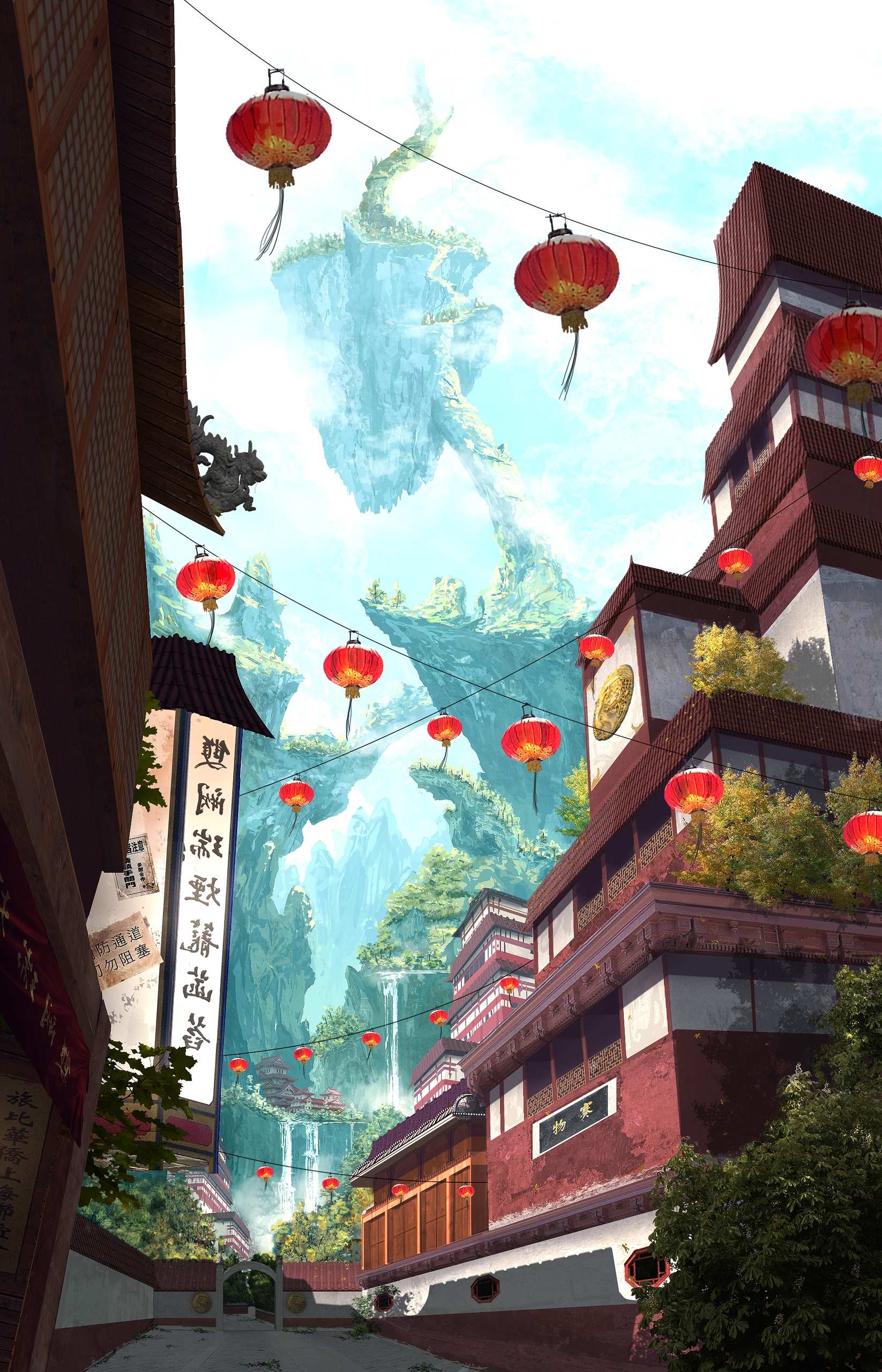 Forbidden Kingdom Credits:  - illustration - k0ori | ello