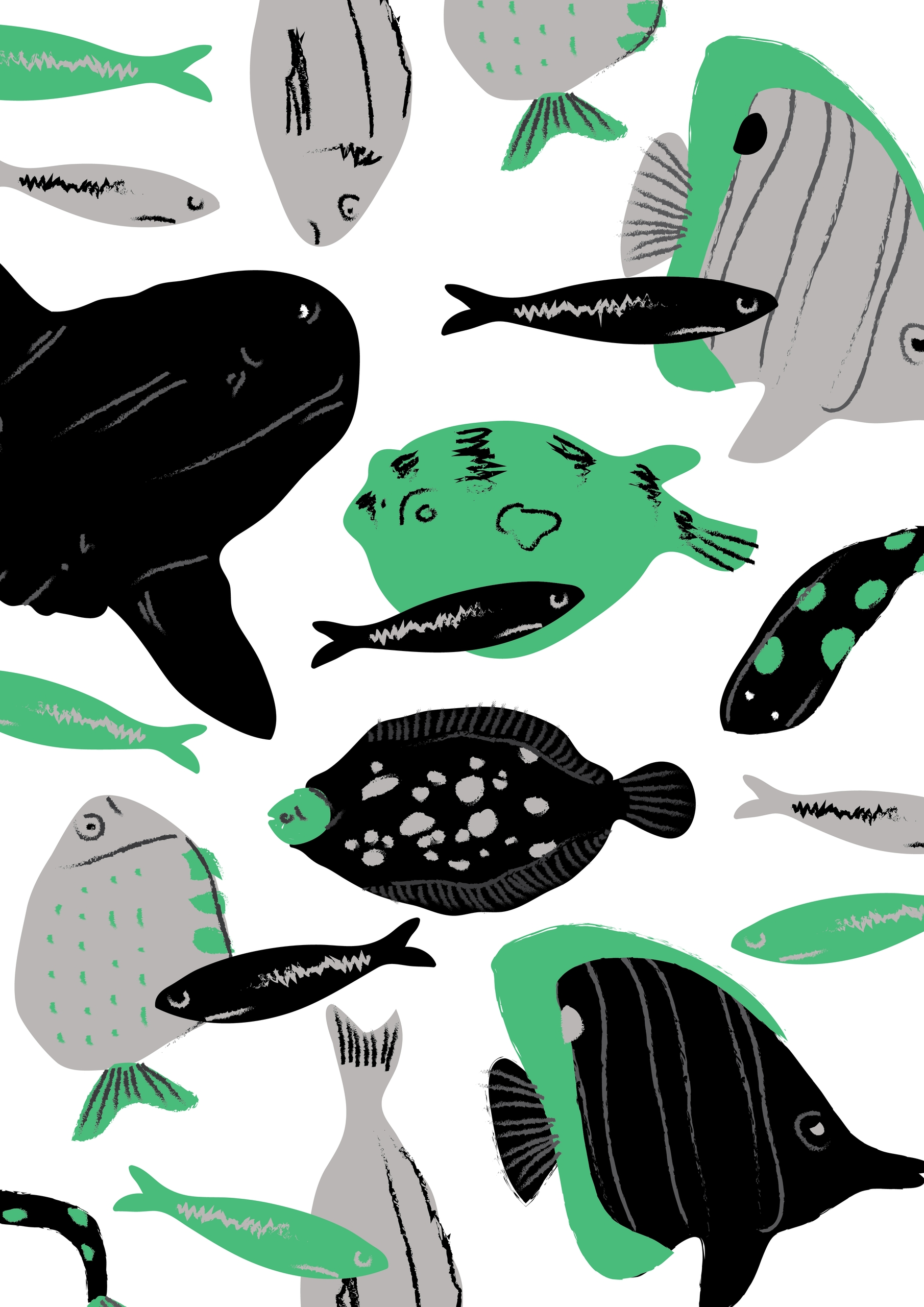 fish, beatrizalao, illustration - beatrizalao | ello