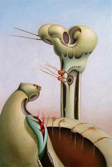 Birth, oil / canvas, 150 100 cm - jozz-1181   ello