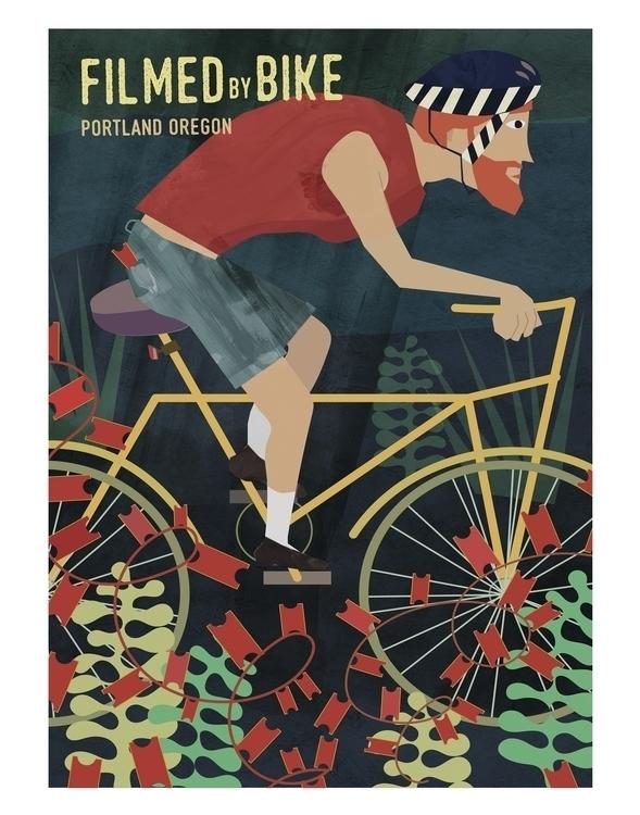 poster created annual film fest - rkillustration | ello