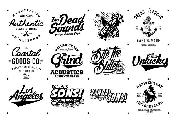 logotype, typography, motorcycle - carmieantonio | ello