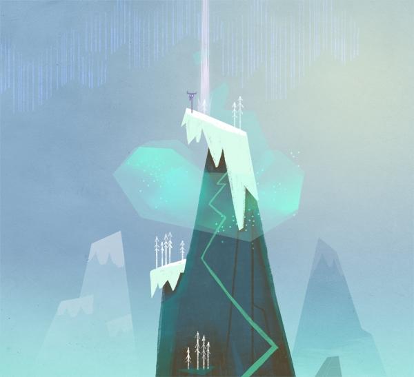 illustration, tvseries, mountains - faimoff   ello