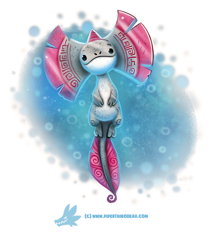 Daily Paint Axe-lotl - 1243. - piperthibodeau | ello