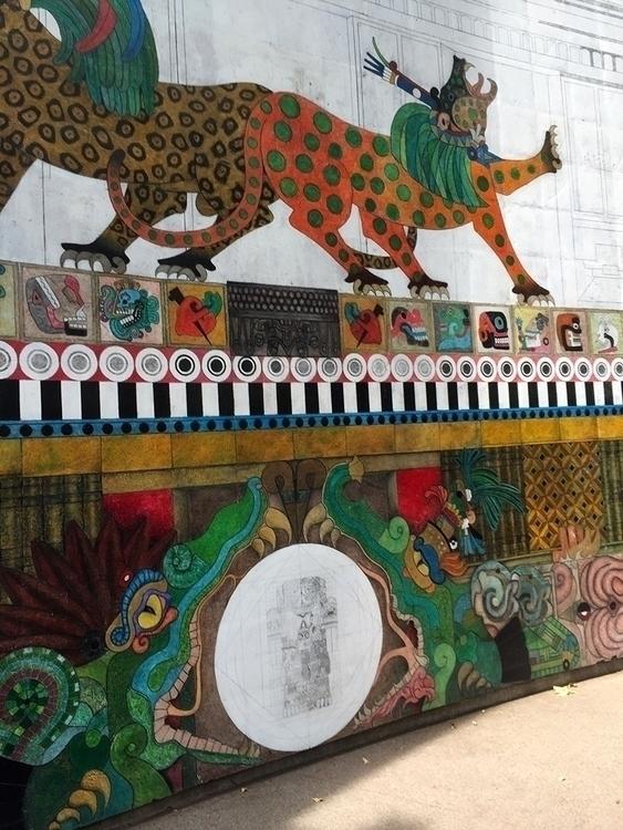 larger view mural Escandon prev - helliongallery   ello