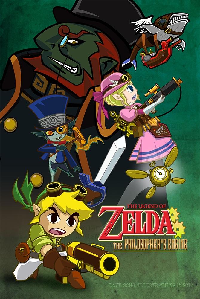 Steampunk Zelda - thelegendofzelda - davesongart | ello