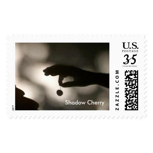 postcard stamp, Shadow Cherry.  - farrellhamann   ello