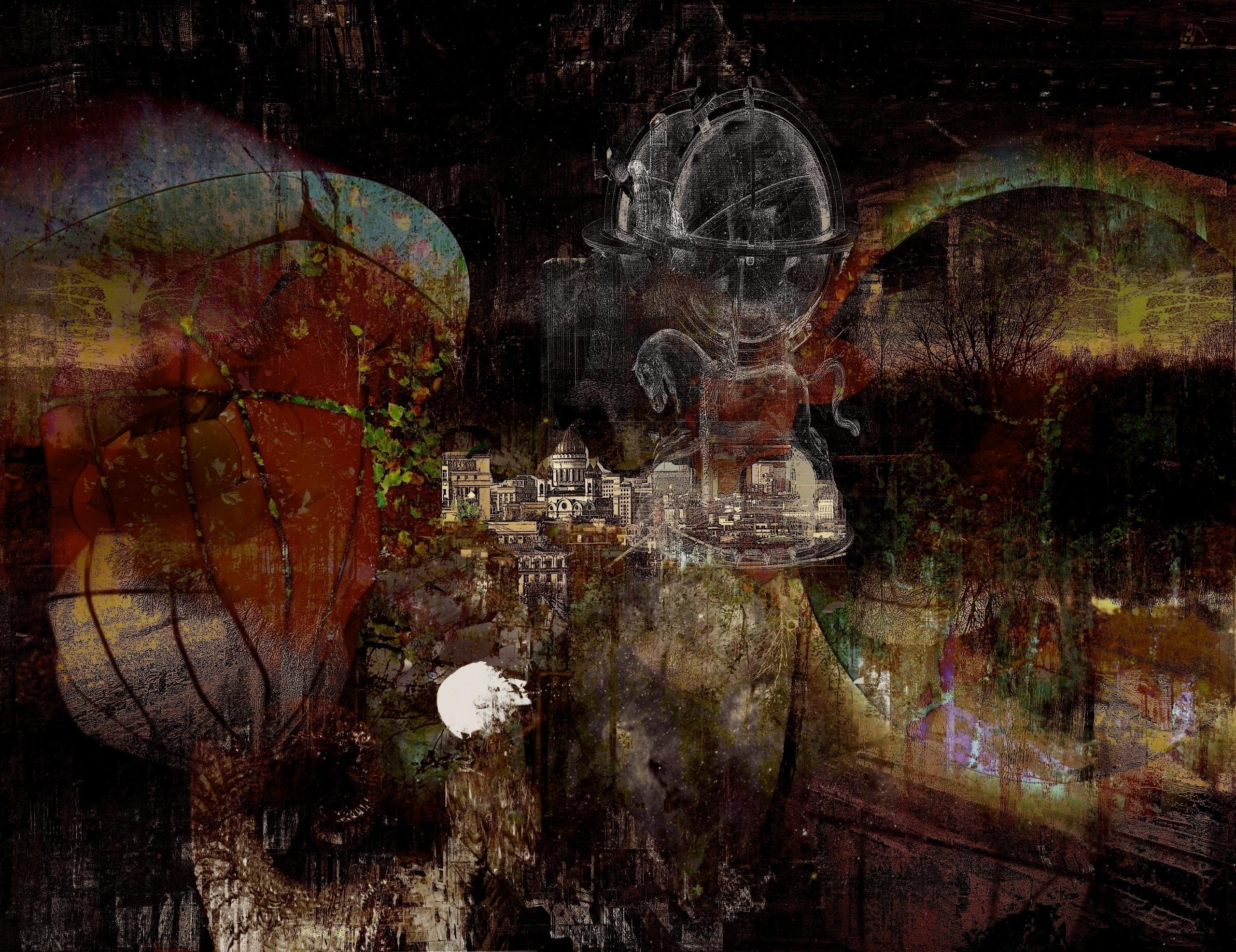 Land Golden Spires - digitalart - dizwhi | ello