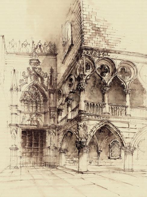 Venice - watercolor, watercolour - grimdream   ello