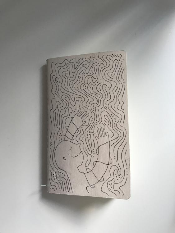 notebook cover doodle - illustration - heybop | ello