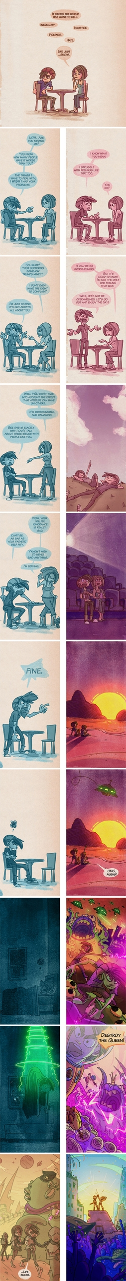 Good - comics, empathy, aliens - nateswinehart | ello