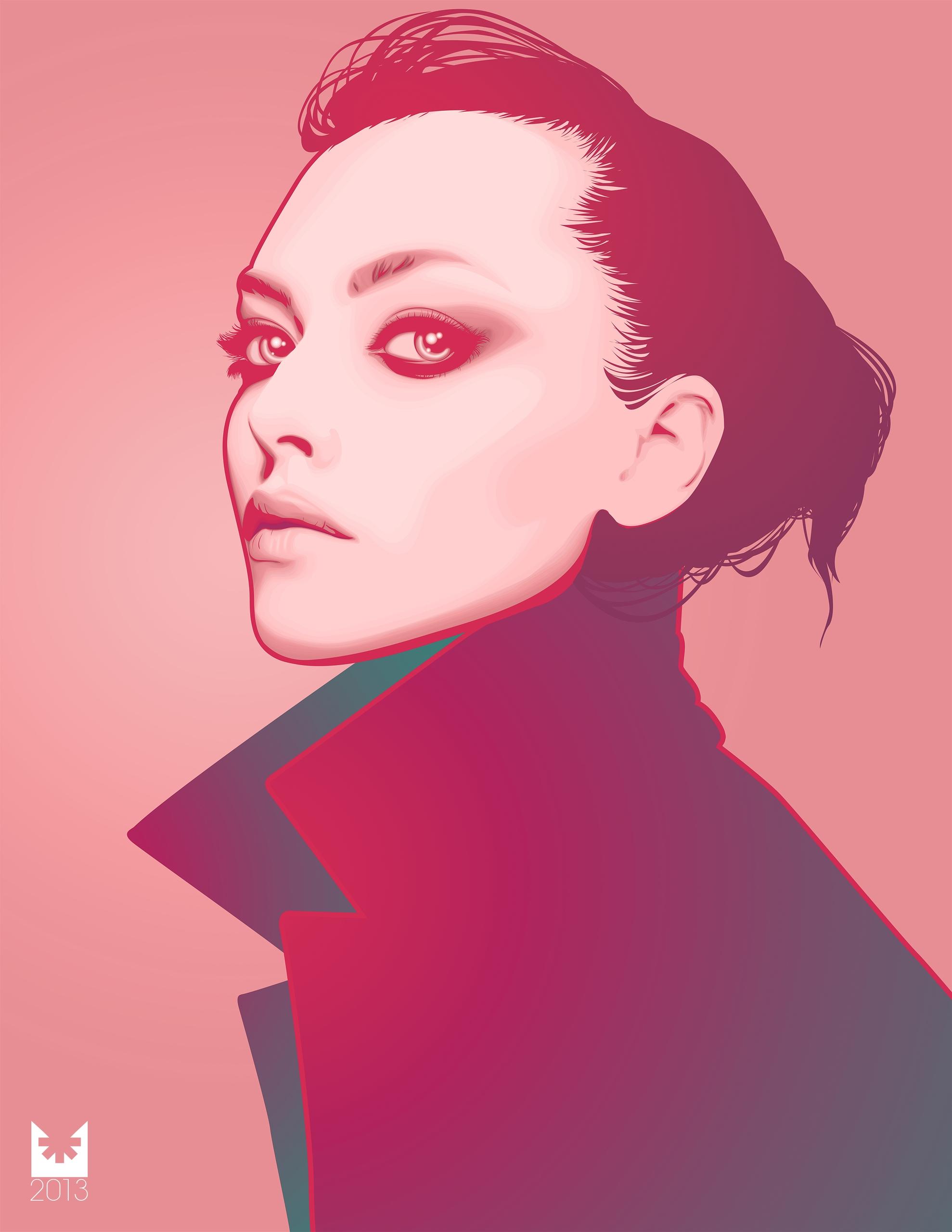 AMANDA SEYFRIED Vector Portrait - bossmarx | ello