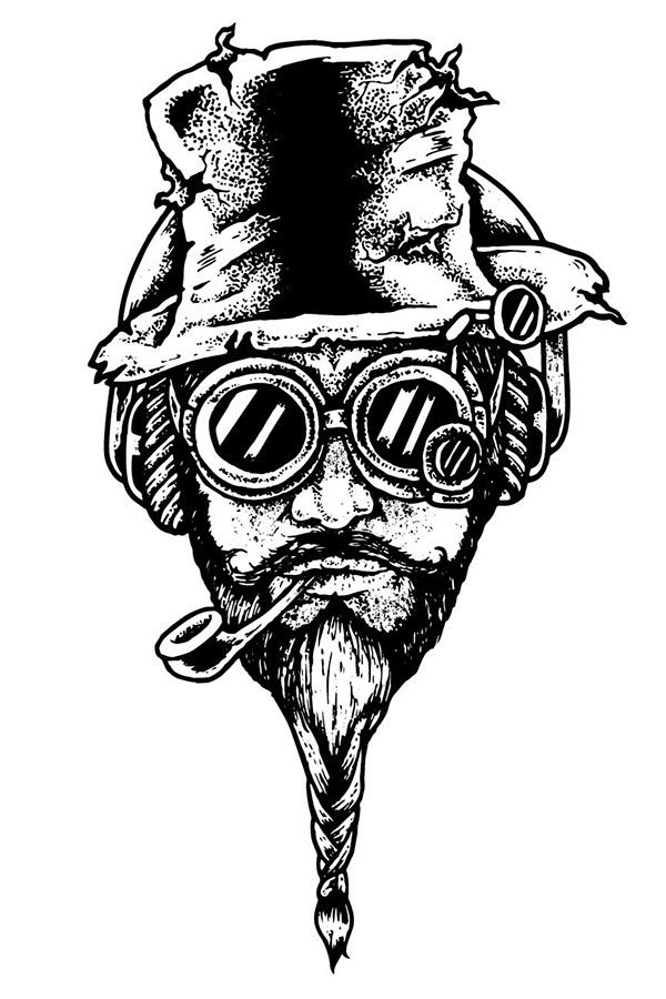 Steampunk Pedro - deadkid0018   ello