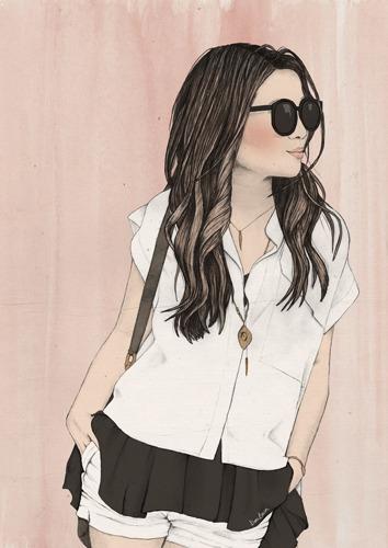 Fashion Wendy - illustration, fashion - danibaum   ello