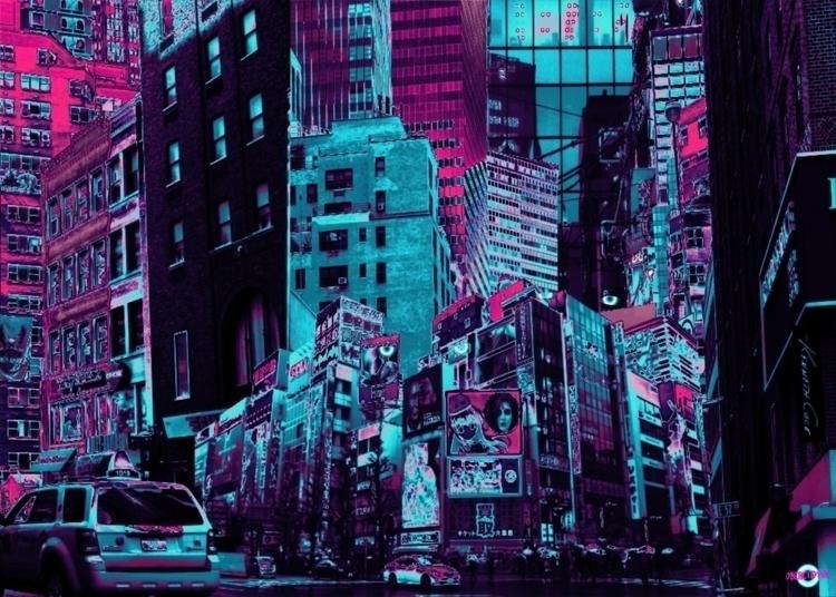 color approach comic, fine deta - cybercitypunk   ello