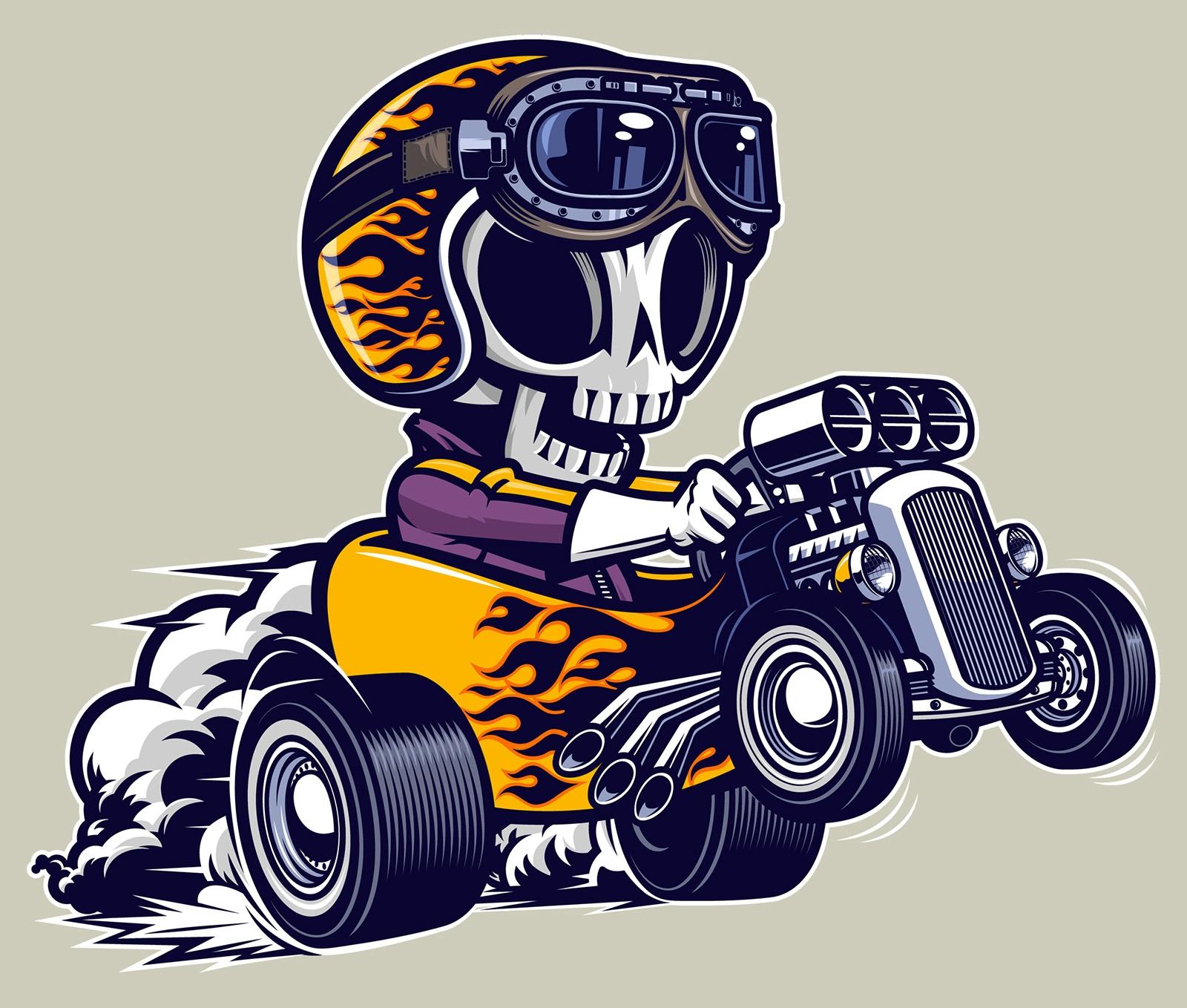 Death Race - characterdesign, hotrod - rusc | ello