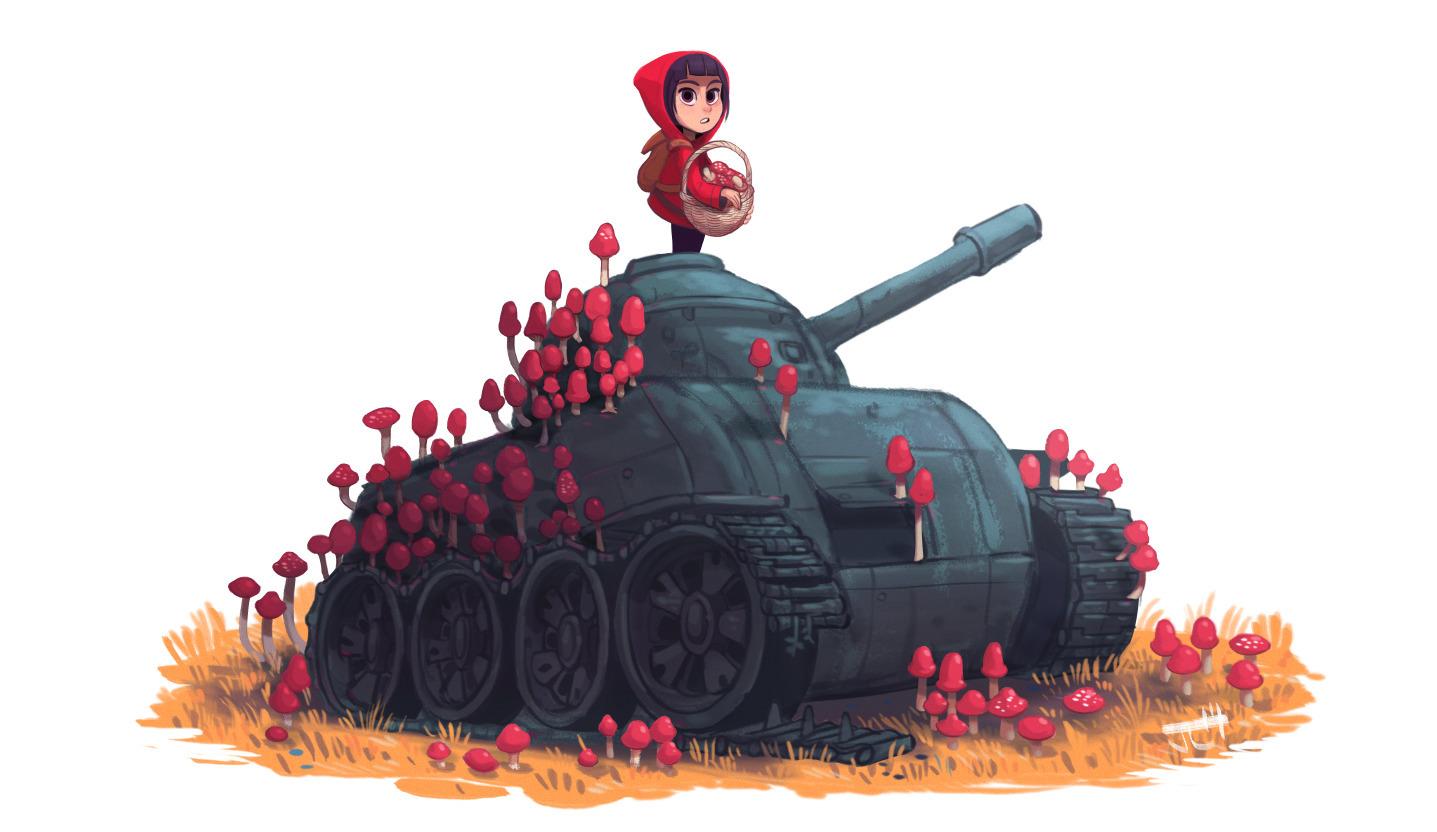 TankGirl - characterdesign, illustration - justinchan-1699 | ello