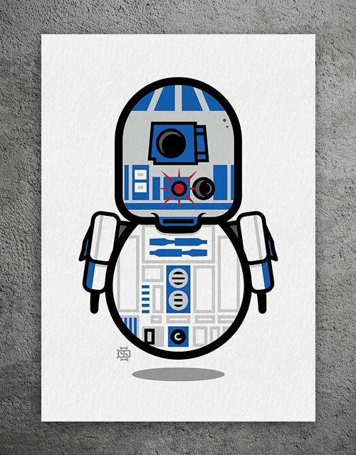 R2-DUDE2 LImited Edition Giclee - 6gun | ello