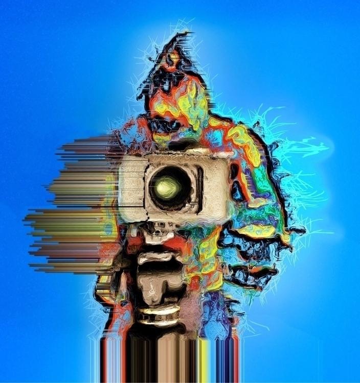camera disintegration - newmediaart - asimodt | ello