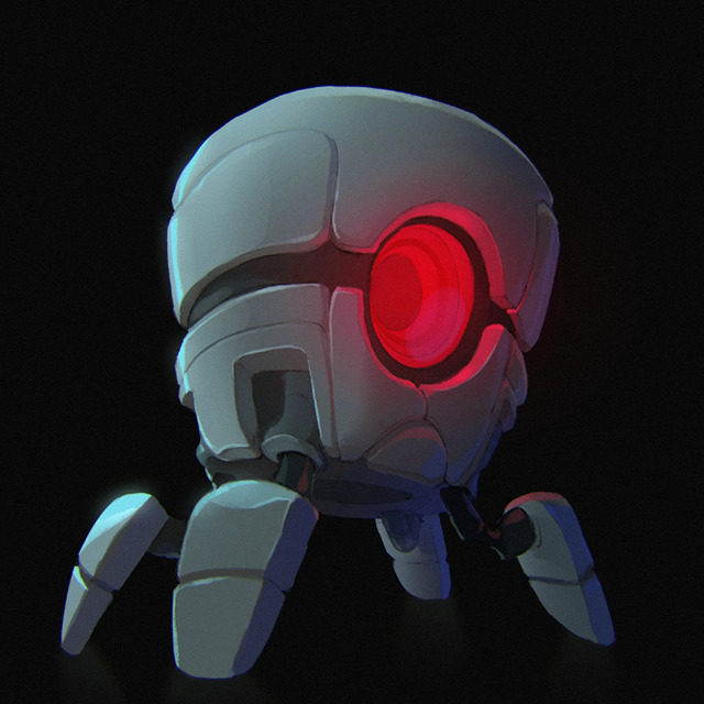 Robot - nuclearthrone, justinchan - justinchan-1699 | ello