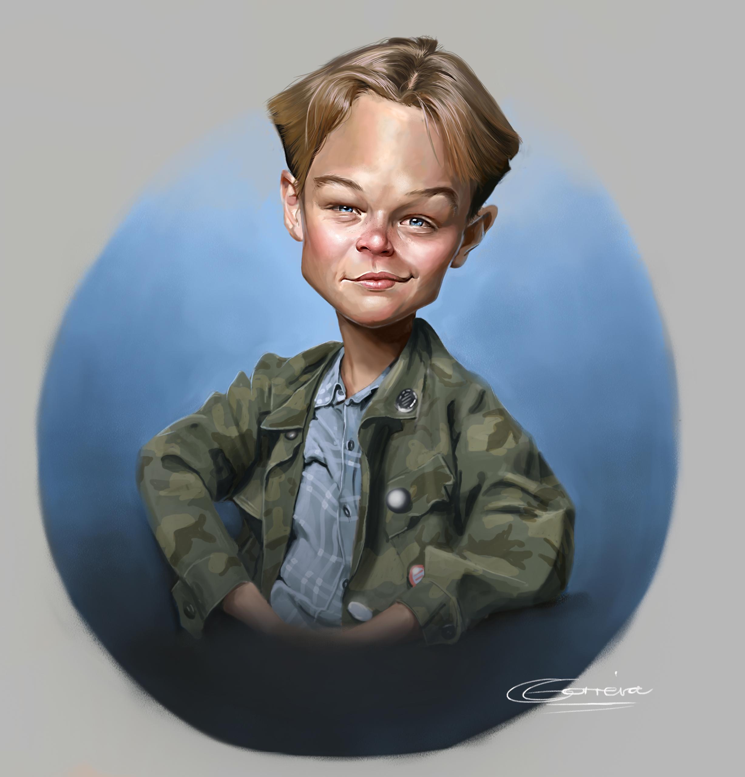 Leonardo DiCaprio Caricature - nightshadeberry | ello