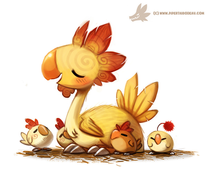 Daily Paint Kuntucky Fried Choc - piperthibodeau | ello