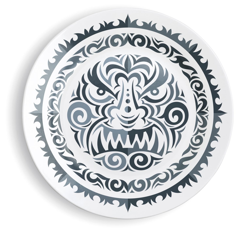 Plate Print - vonster | ello