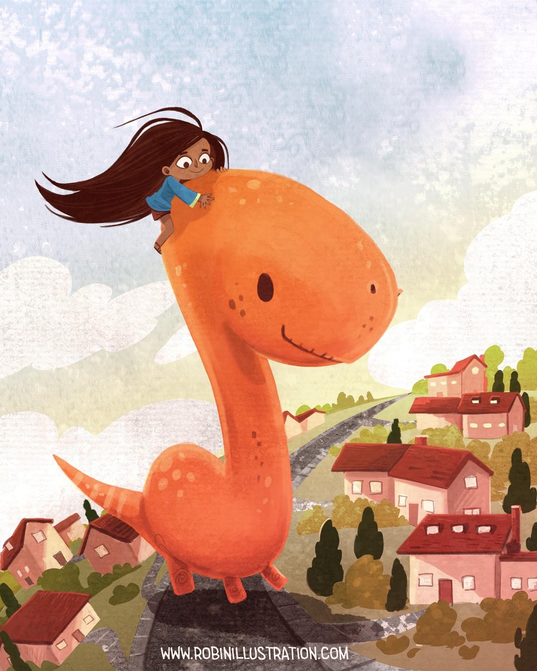 Brachiosaurus - dinosaur, brachiosaurus - robinrobinsonia | ello
