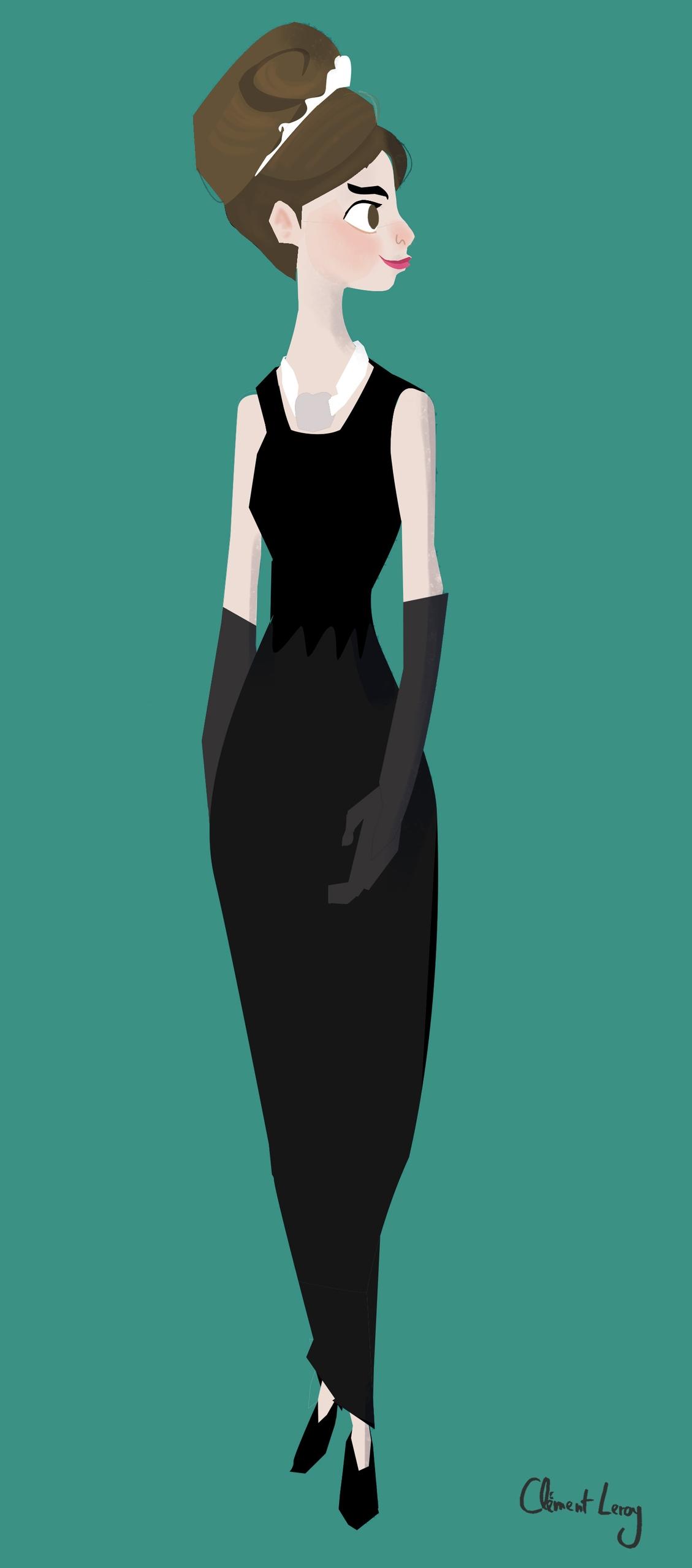 Audrey Hepburn - hepburn, characterdesign - cleleroy | ello