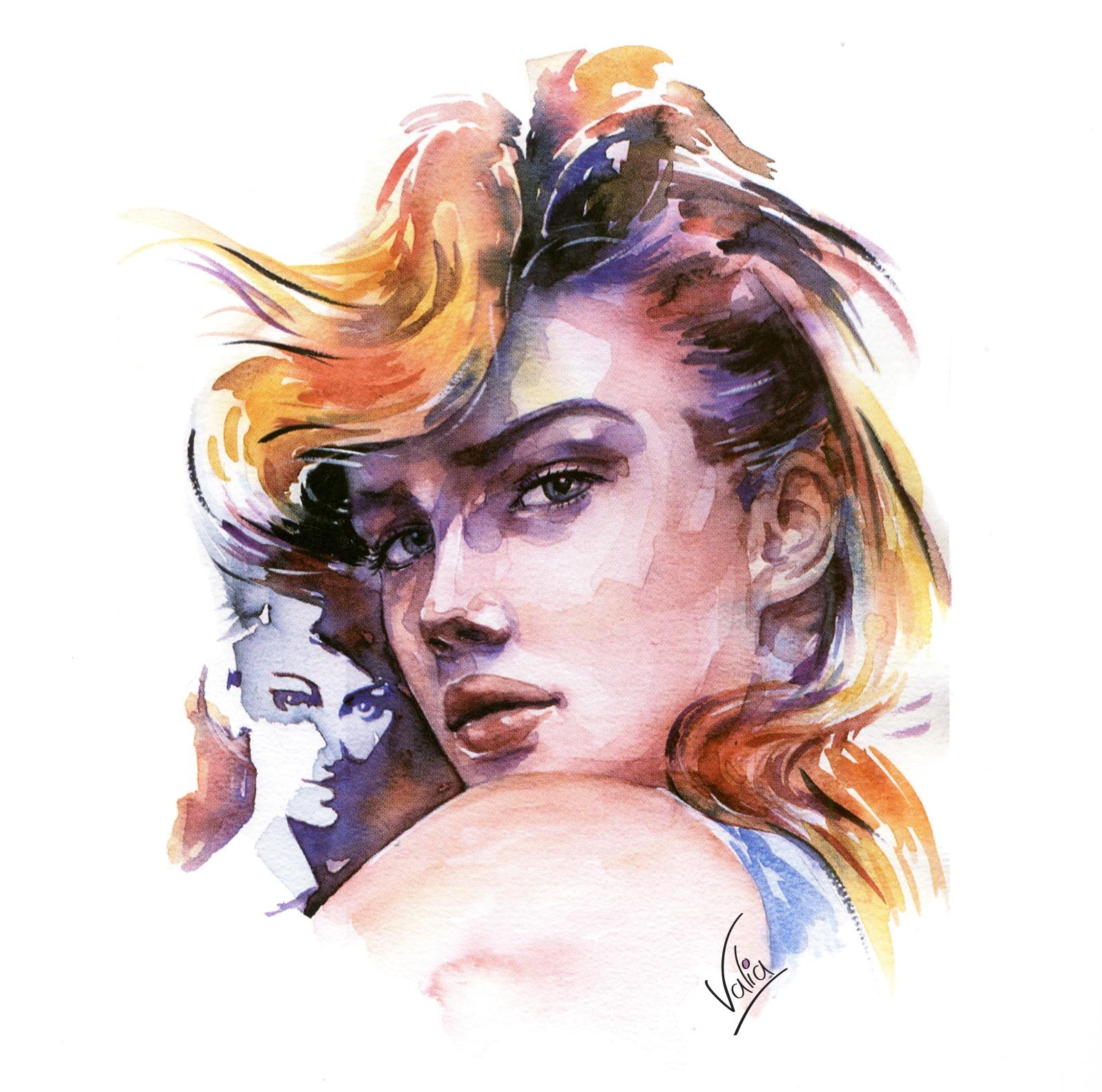 face - painting - valiaart | ello