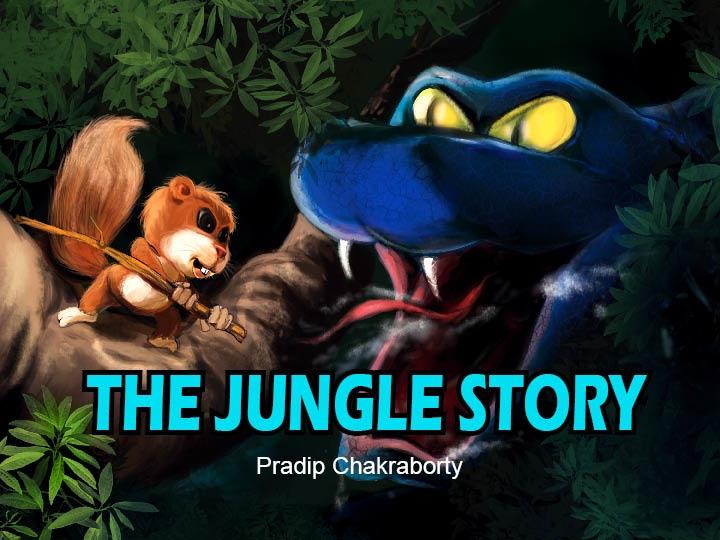Cover - Jungle Story - illustration - pradiparts | ello