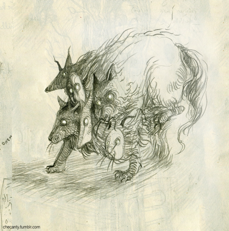 creature, wolf - checanty | ello