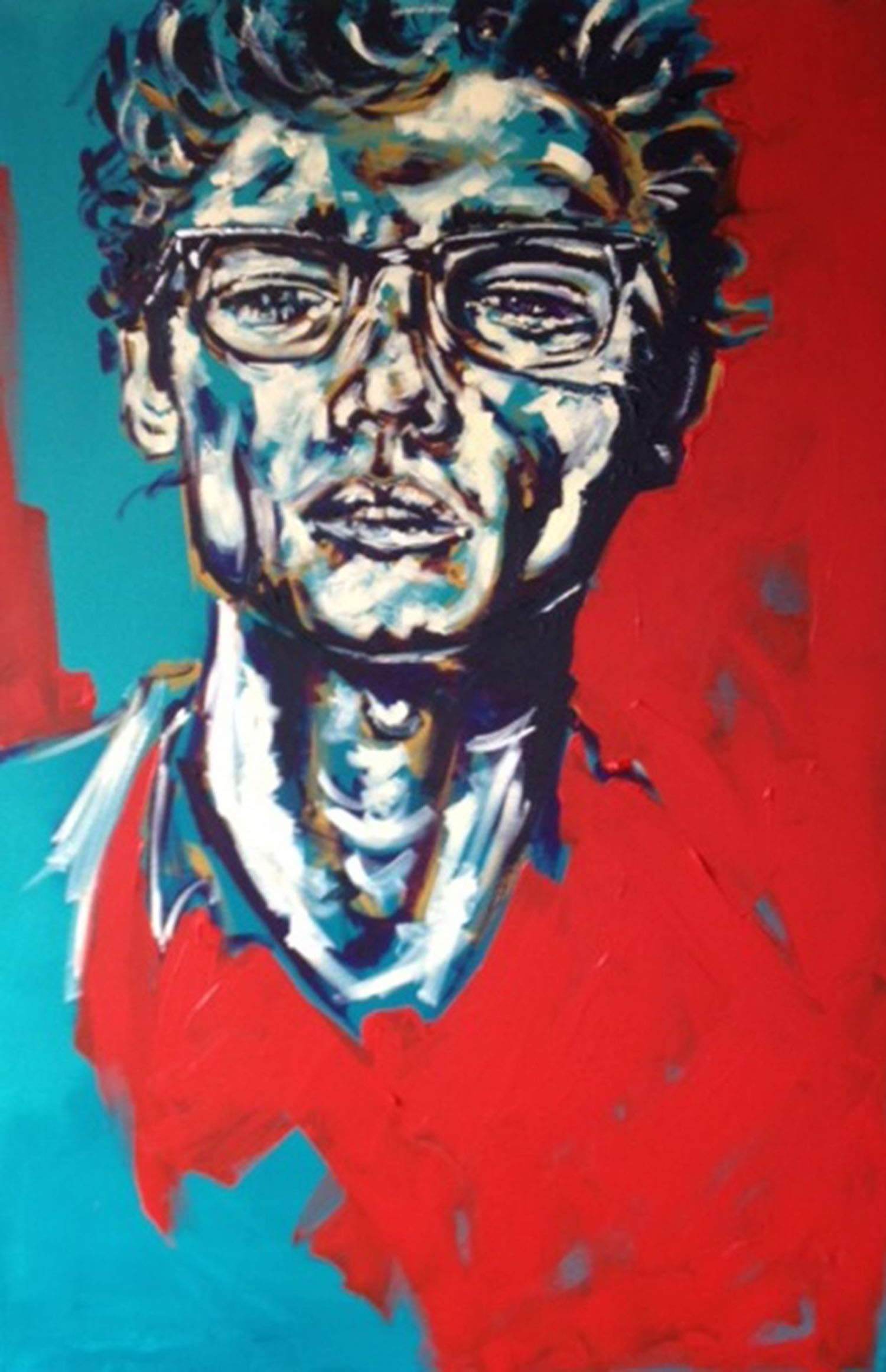 art, painting, portrait - mdartanddesign | ello