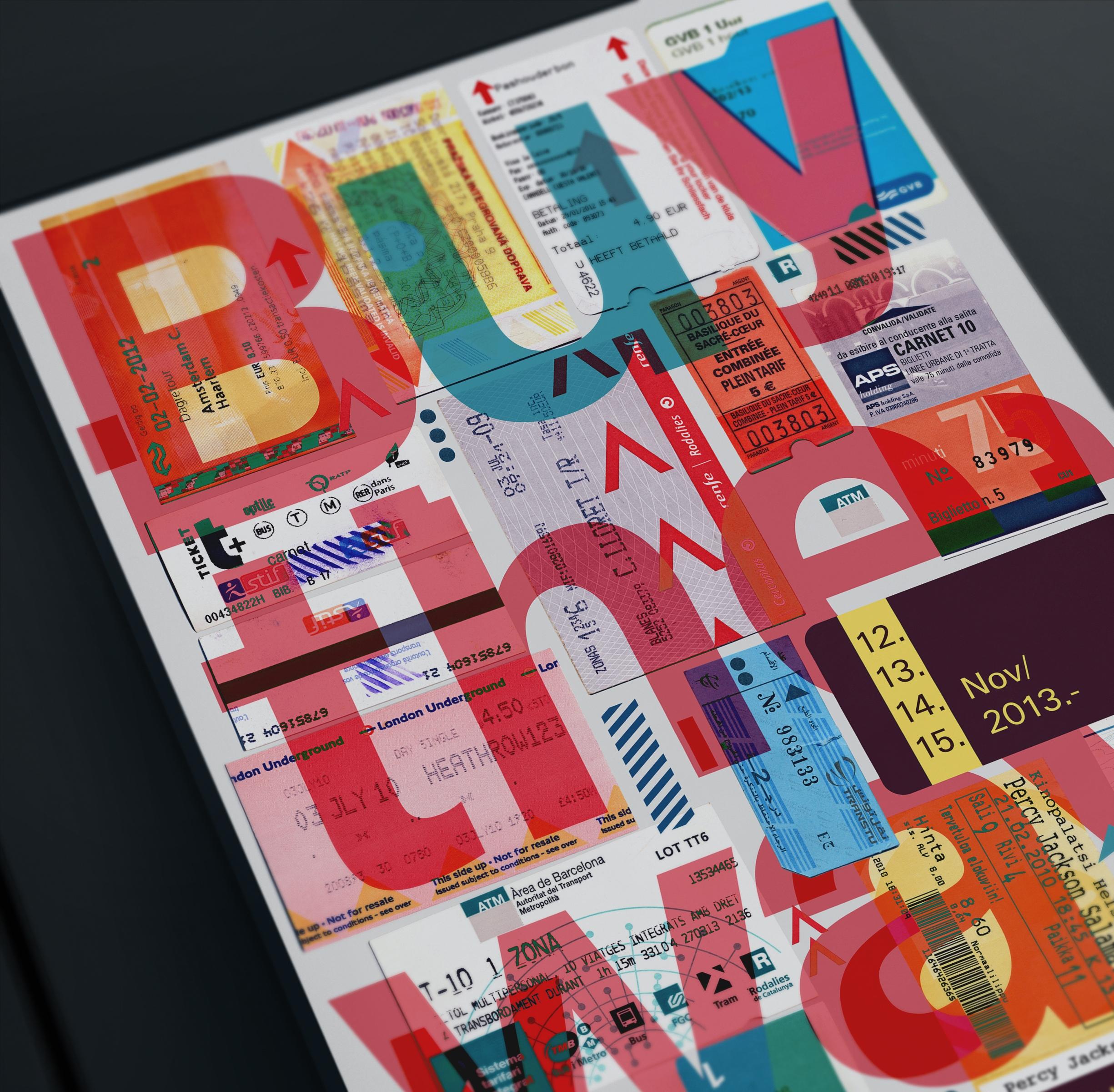 design, typography, #ticket - veronicaazaryan | ello