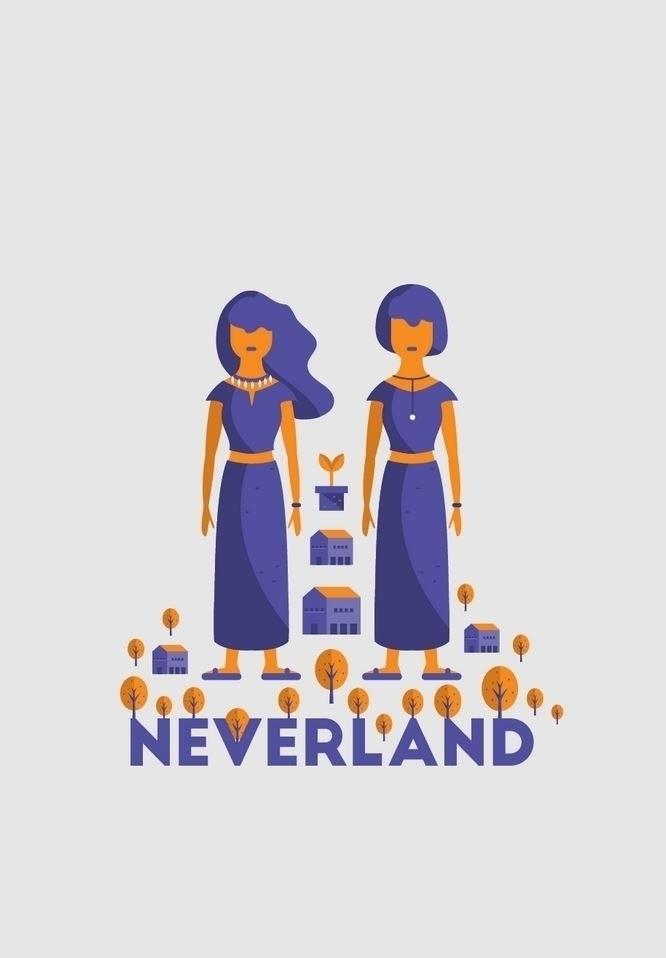 Poster Illustration Idea - Neve - alexchan1991 | ello