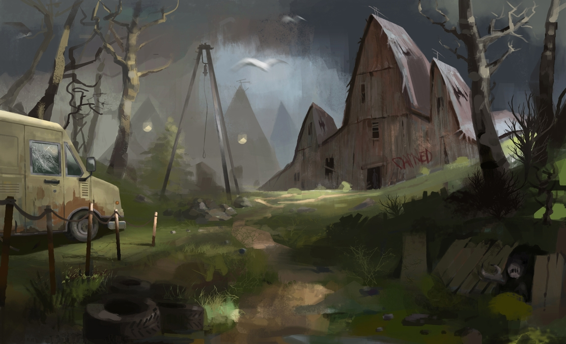 illustration, conceptart, horror - anna_warzecha | ello