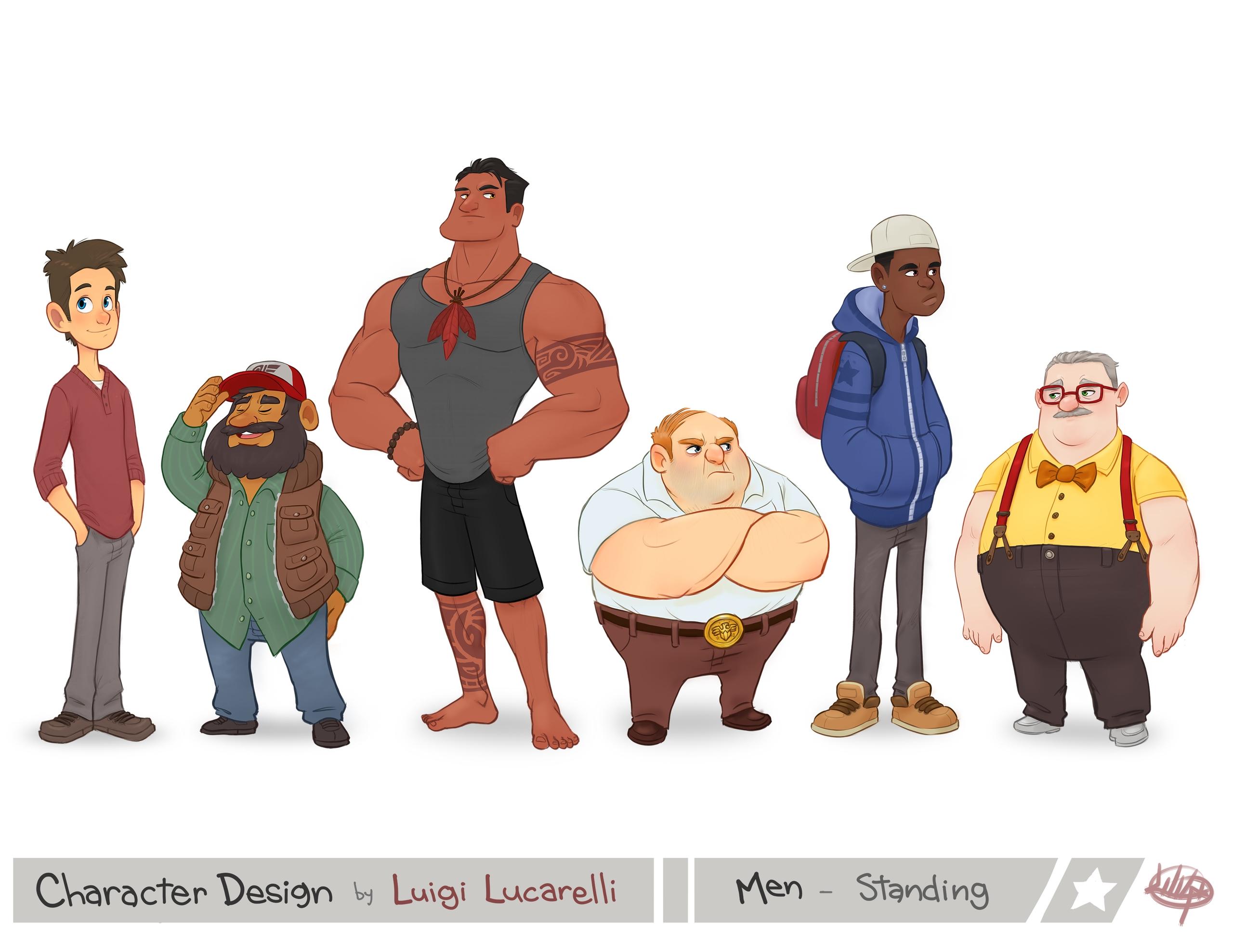 page character design portfolio - luigil-2352 | ello