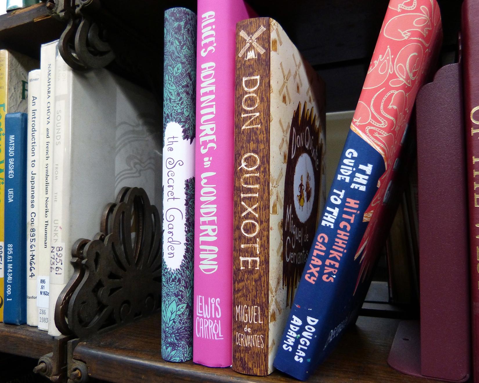 book spine designs - hitchhikersguidetothegalaxy - maggiemcaton   ello